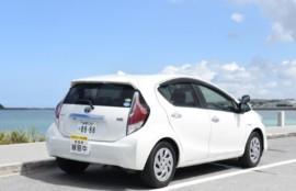 教習車、教習所、自動車学校、沖縄、運転免許、免許、仮免
